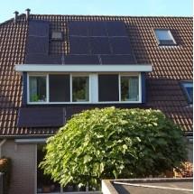 Passen en meten op het dak